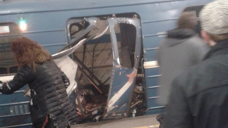 St Petersburg bombdåd