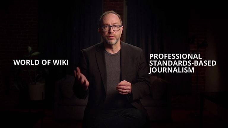 Wikipedias grundare Jimmy Wales