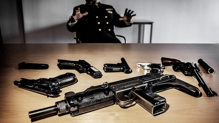 illegala vapen