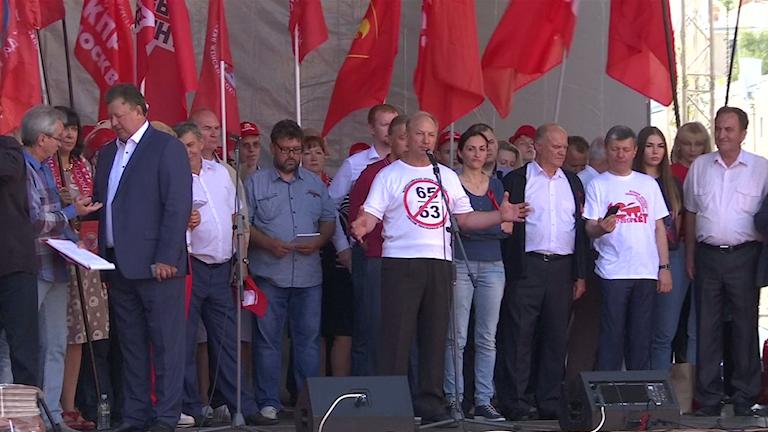 reuters demonstration i moskva