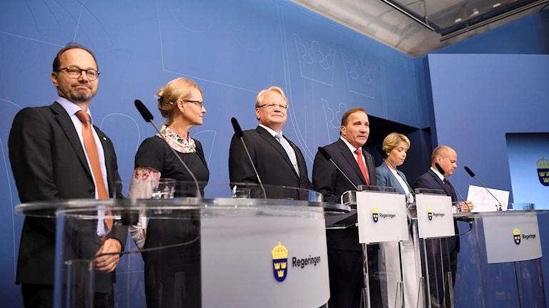 Presskonferens Rosenbad