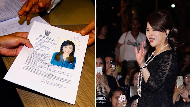 På fredagen meddelade att den thailändske kungens äldre syster, prinsessan Ubolratana, helt oväntat meddelat att hon kandiderar till posten som premiärminister.