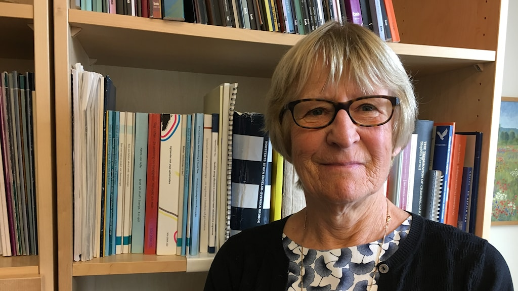 Stina Holmberg, forskningsråd Brottsförebyggande rådet, Brå.