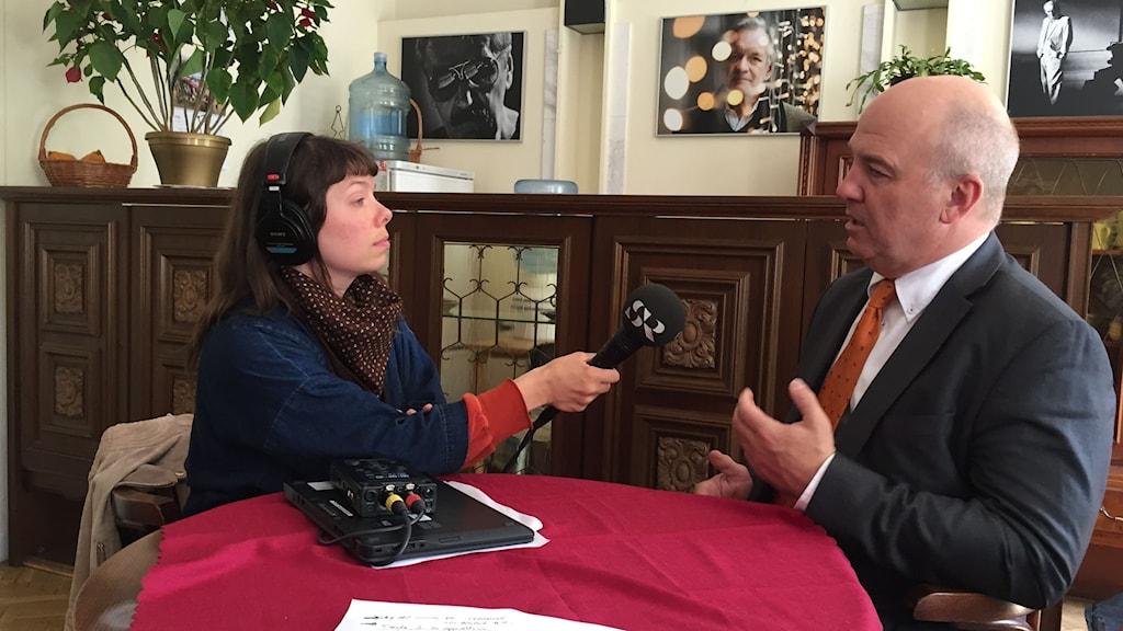 Intervju med Europarådets människorättskommissionär Nils Muižnieks