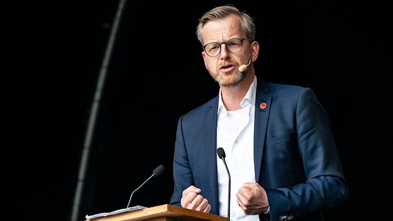 Inrikesminister Mikael Damberg