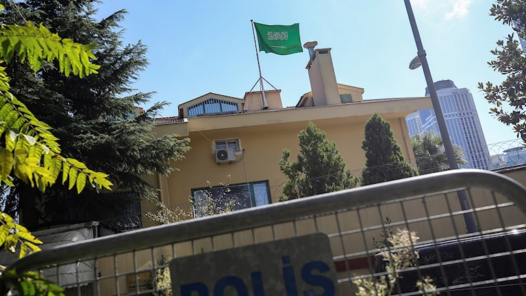 Det saudiska konsulatet i Istanbul.