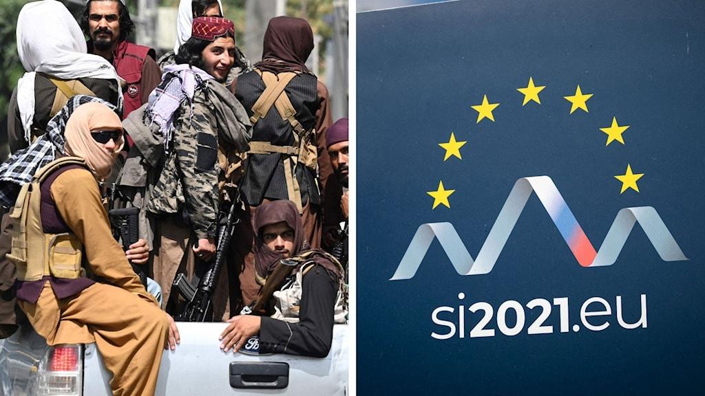 Split Taliban krigare EU Slovenien