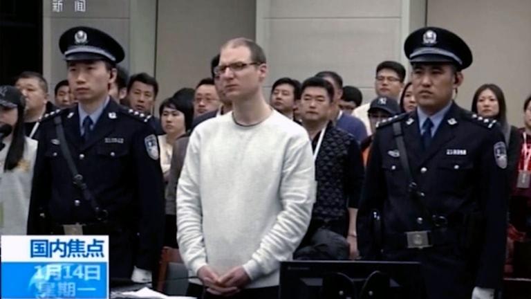 Robert Lloyd Schellenberg är dömd till döden i Kina
