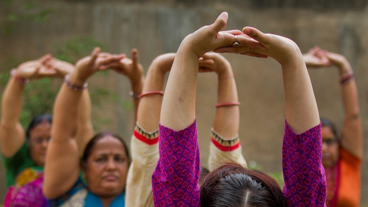 Gym kvinnor Indien