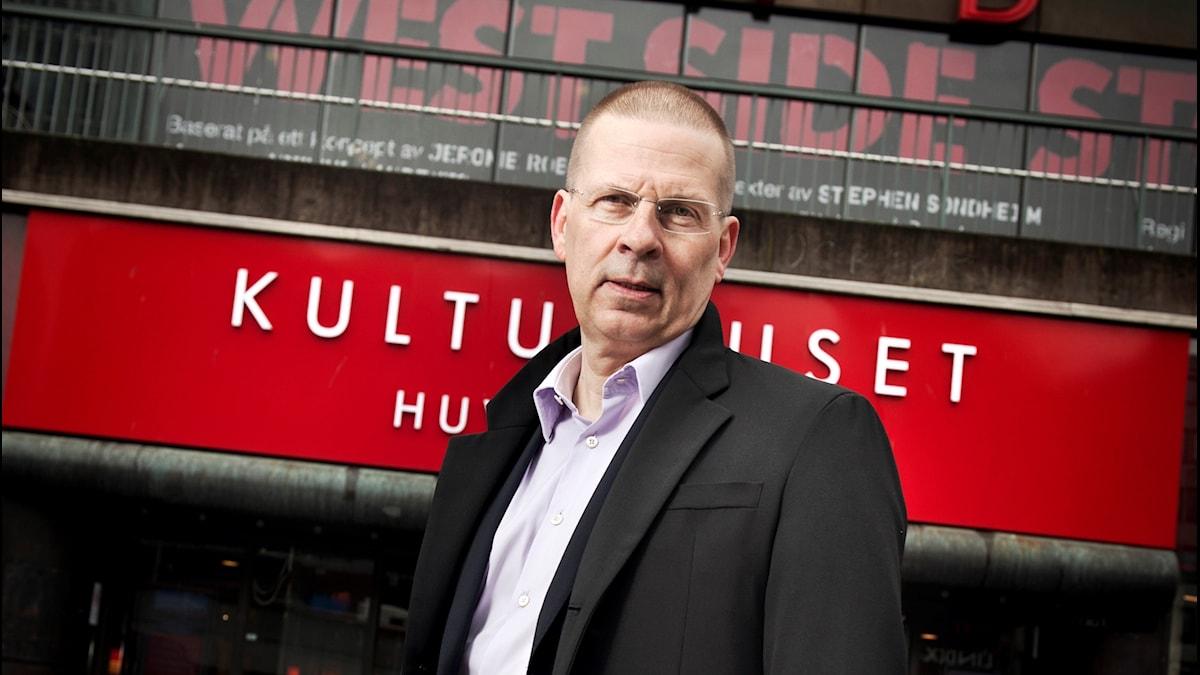 Benny Fredriksson var Stadsteaterns Vd under femton år.