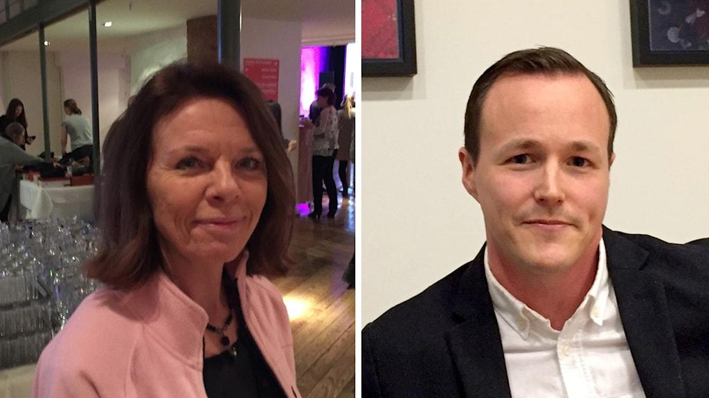 Irene Gustafsson oroas över vad hon ser ut att få i pension. Mattias Munter på banken Skandia varnar för följderna av minusräntan.