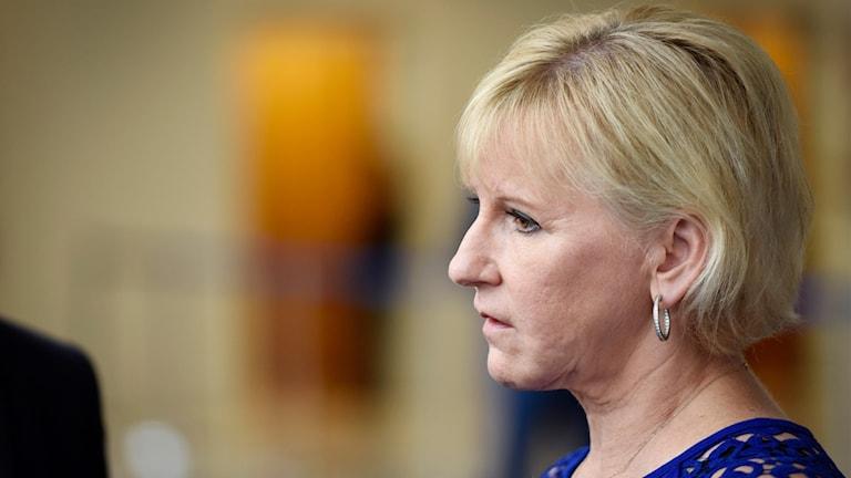 Sveriges utrikesminister Margot Wallström.
