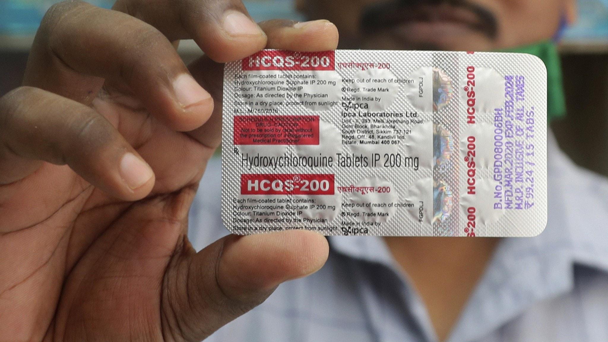 Över hundra döda av hydroxyklorokin i USA - Nyheter (Ekot)