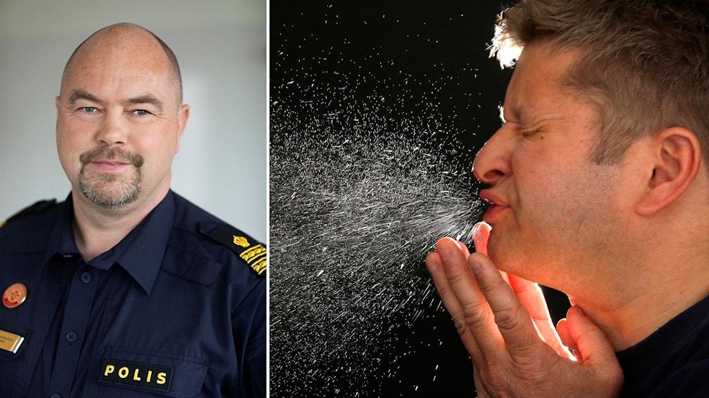 Patrik Danielsson, nationellt huvudskyddsombud på Polisförbundet.