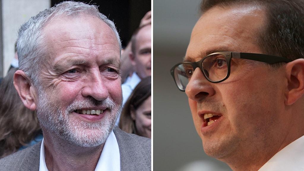 Partiledarvalet i Labour kommer att stå mellan Jeremy Corbyn och Owen Smith.