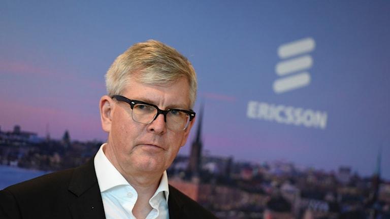 Ericssons vd, Börje Ekholm