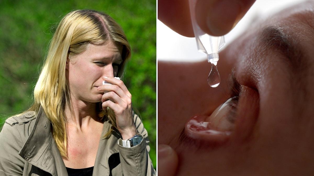 Personer med pollenallergi