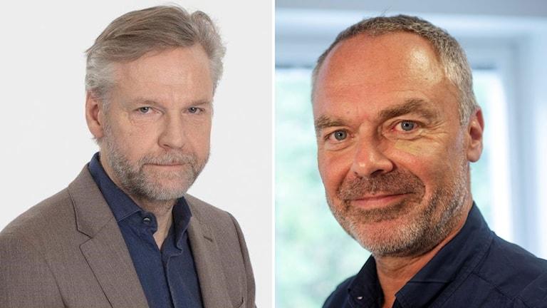 Tomas Ramberg och Jan Björklund