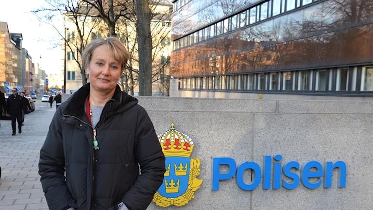 Kajsa Wahlberg/ kriminalkommissarie på polisens nationella operativa avdelning.
