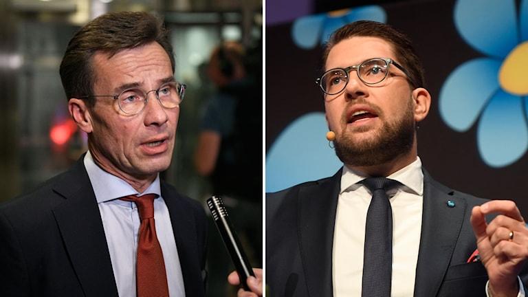 Ulf Kristersson och Jimmie Åkesson