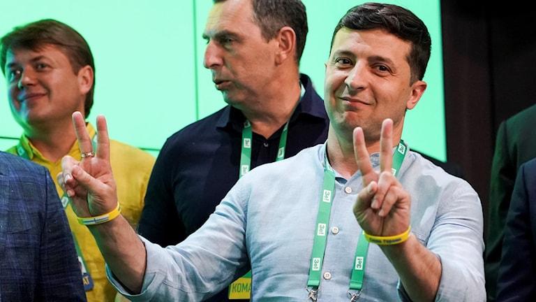 Ukrainas president Volodymyr Zelenskij.