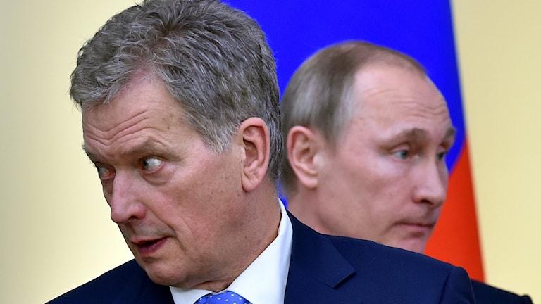 Putin och Niinistö