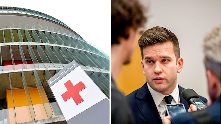 Gabriel Wikström sjukvårdsminister (S)