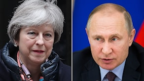 May och Putin