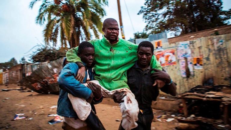 Flera har skadats och dödats vid protesterna i Kenya efter valet.