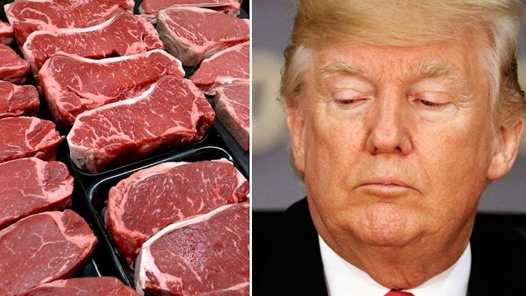 Bland annat kommer amerikanskt kött att drabbas av mycket högre tullar i Japan efter USA:s avhopp från TPP-avtalet.