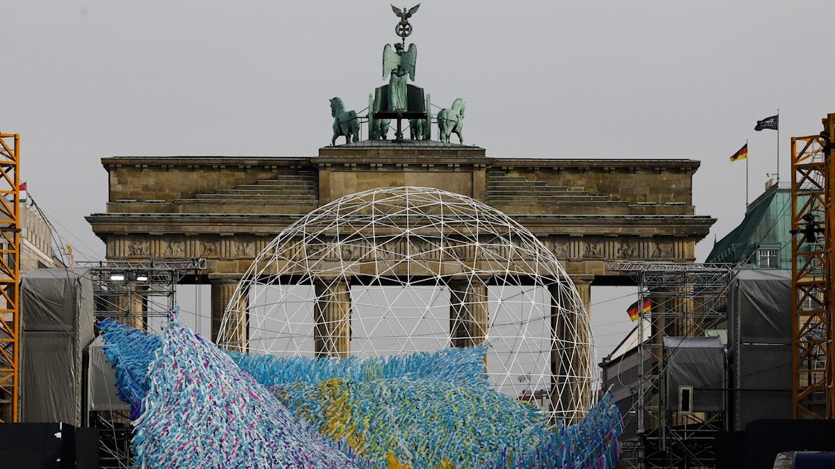 Brandenburger Tor i Berlin.