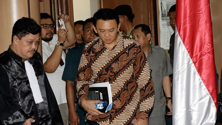 """Jakarta Governor Basuki Tjahaja Purnama, popularly known as """"Ahok"""","""