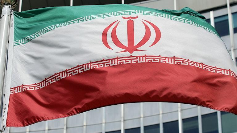 iransk flagga
