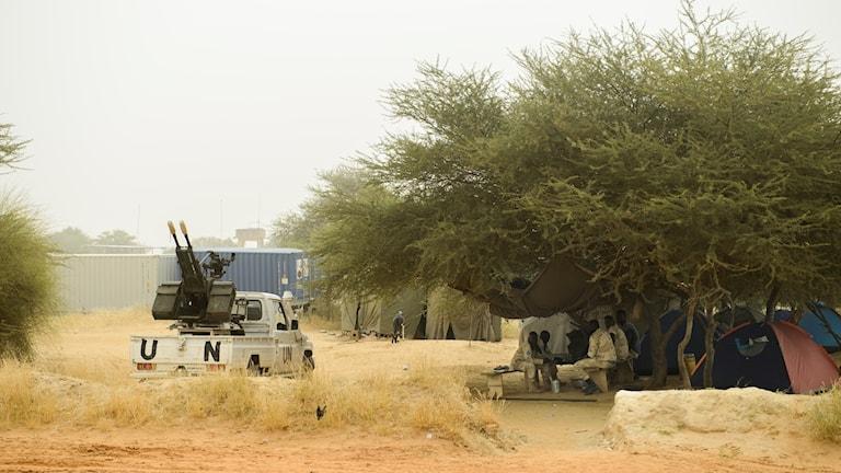Bild på FN-styrkan i Mali.