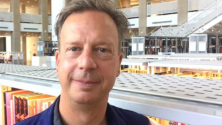 Författaren Torbjörn Flygt.