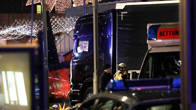 Lastbilen som körde in i folkmässan