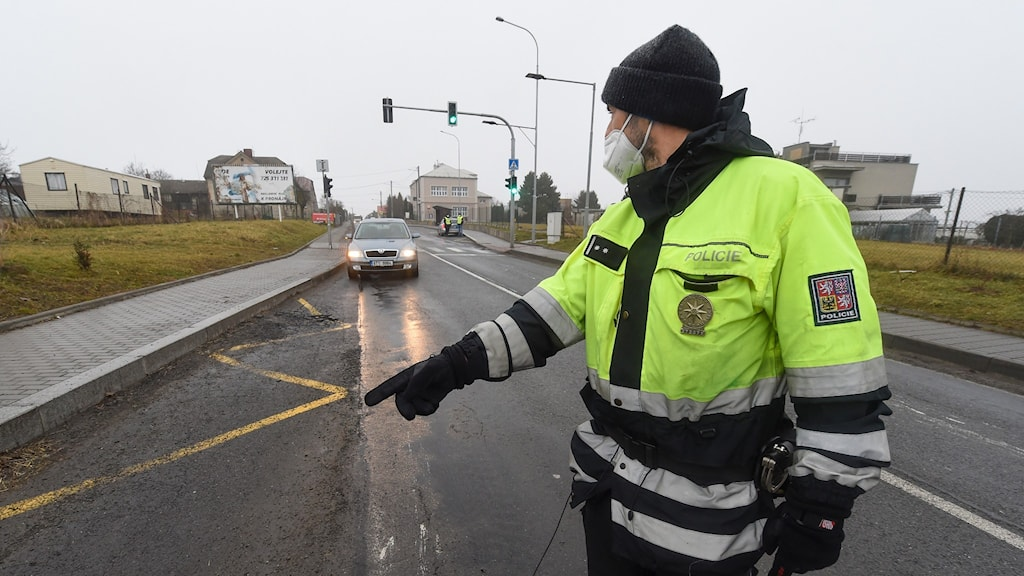 Tjeckisk polis