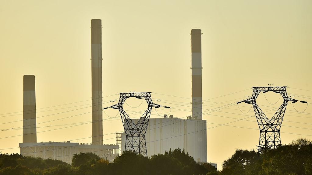 Kolkraftverk i Frankrike.