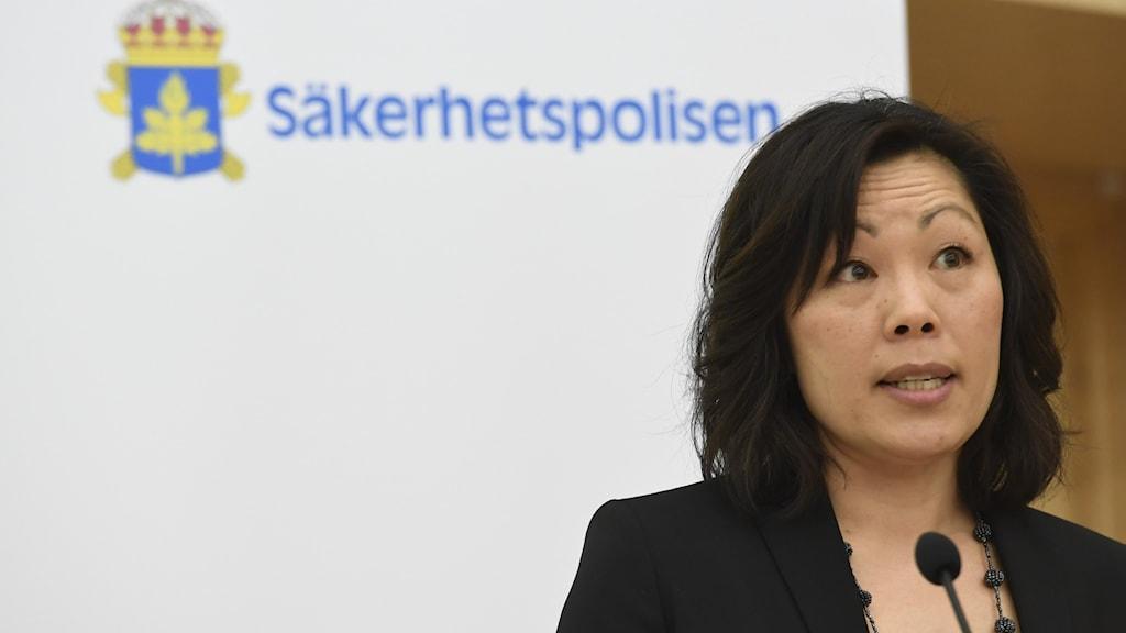 Ahn-Za Hagström, analytiker på Säkerhetspolisen