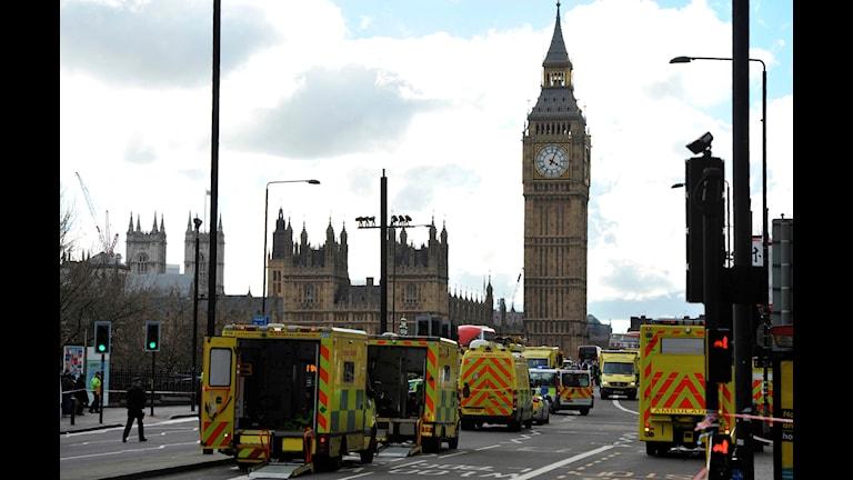 Terrorattack vid brittiska parlamentet