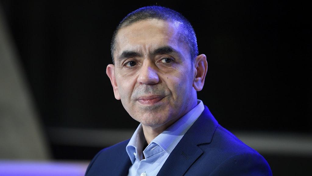 Ugur Sahin är vd och medgrundare av företaget Biontech.