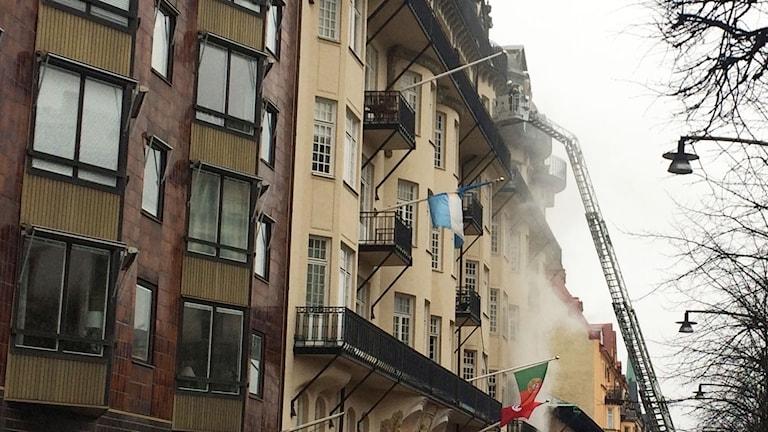 اندلاع حريق في مبنى السفارة البرتغالية في ستوكهولم