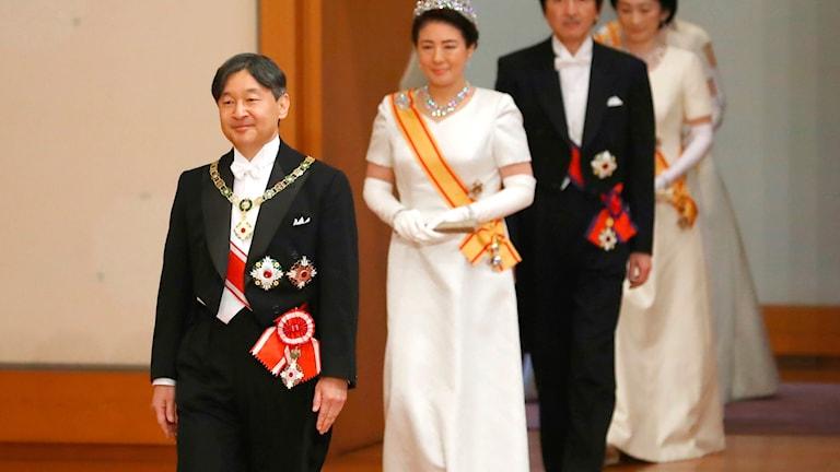 Japans nya kejsare