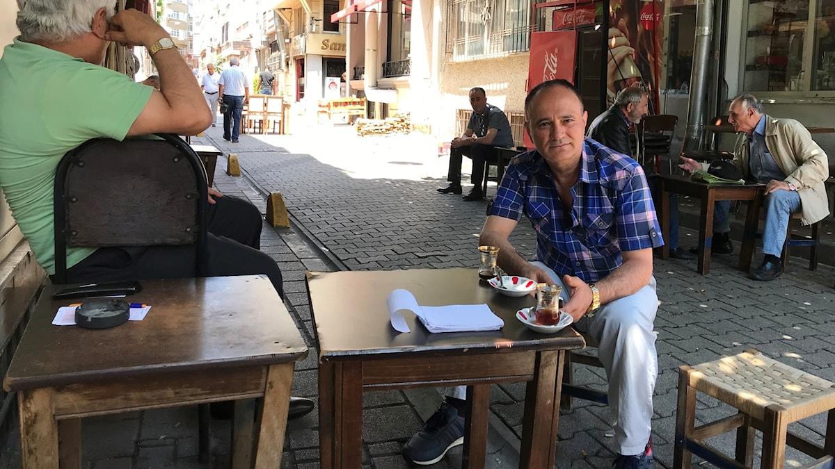 Arbetslöse Mustafa Yilmaz