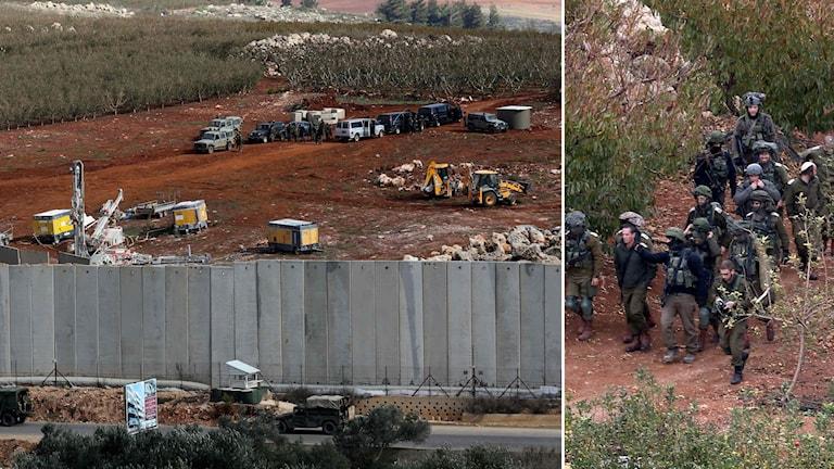 Gränsen mellan Israel och Libanon
