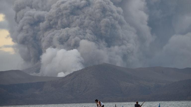 Vulkanen Taal Filiippinerna