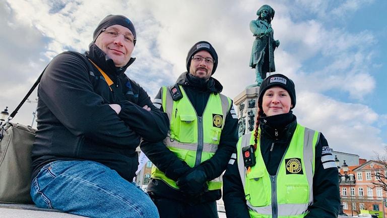 Johan Lindh Rasmus Appelroos Emma Mårtensson