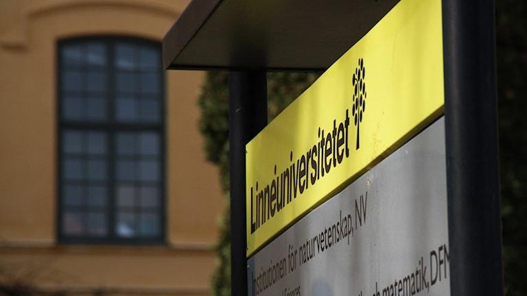 Linnéuniversitetet i Kalmar.