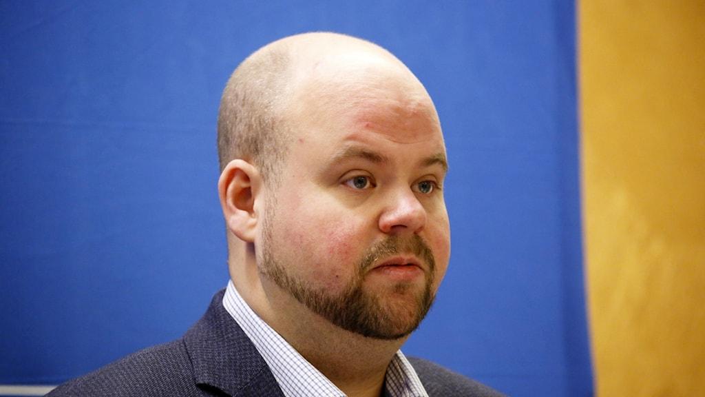 Kristdemokraternas partisekreterare Peter Kullgren