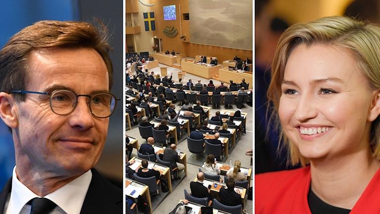 Riksdagen röstade med knapp majoritet igenom Moderaternas och Kristdemokraternas gemensamma förslag